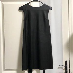 Zara Vegan Leather short dress